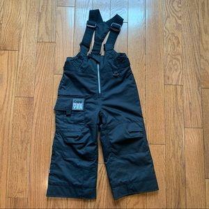 Obermeyer boy's snow pants black